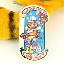 Vtg 80s Dakin Garfield Spaghetti Attack #03-7210 Stuffed Plush Cat HANG TAG EXC