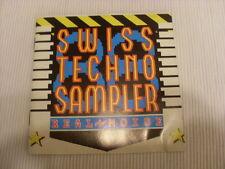 Swiss Techno Sampler - Real Noise - 1988 - Rarität
