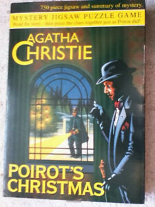 Agatha Christie - Poirot's Christmas - 750 pieces Murder Mystery Puzzle
