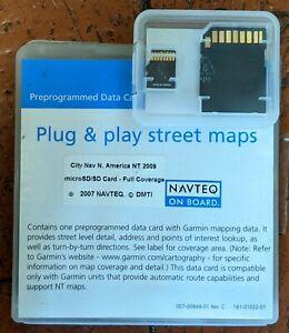 GARMIN GPSMAPS ~CITY NAVIGATOR STREET MAPS NORTH AMERICA~ OPEN BOX