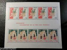 MONACO 1981, BLOC n° 19, EUROPA, FETE RAMEAUX, neuf**, MNH STAMP, EUROPE