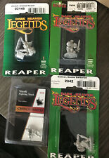 Fantasy Miniatures Lot Player Characters D&D mostly Reaper