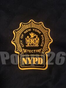 NYS NY NYC Detective Police ( Outside )  *OFFICIAL  Decal Sticker **Others