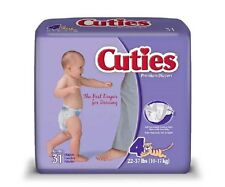 Cuties Diaper, Size 4, Heavy Absorbency Disposable, CR4001 - Case of 124 Diapers