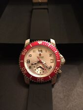 Victorinox Swiss Army Men's 241177 Maverick II Dual Time Silver Dial Watch