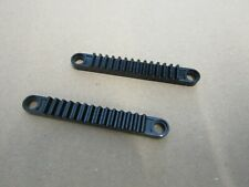 LEGO Technic 6630 - 2x Zahnstange gear rack 1x8 mit Loch - schwarz 8466, 8145