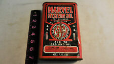 MARVEL MYSTERY OIL - ADD TO GAS AND OIL, TIN CAN