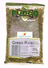 GREEN RAISINS - GREEN SULTANA - FUDCO - 250g & 700g