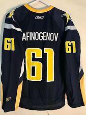 Reebok Women's NHL Jersey Buffalo Sabres Maxim Afinogenov Navy sz L