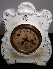 Early 1900s New Haven Porcelain Clock