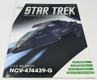 Eaglemoss Star Trek MAGAZINE ONLY *No Ship* # 59 USS RELATIVITY NCV-474439-G