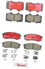 Front & Rear Brake Pad Kit for Toyota 4Runner Lexus GX460 P83066N / P83024N