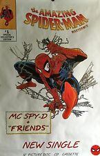 """THE AMAZING SPIDER-MAN MASTER MIX UK PROMO POSTER 60"""" X 40"""" ROLLED"""