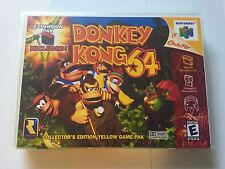 Donkey Kong Dk64 Instruction Manual Only Nintendo 64 N64 Booklet Mario No Game