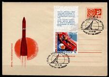 Tag der Kosmonauten. Aleksej Leonow. FDC. Kaluga. UdSSR 1968