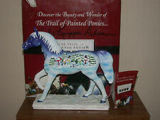 Trail Of Painted Ponies Let It Snow 2E 1893 Twice Signed!Fast FREE Insured Ship!