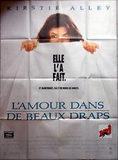 L'AMOUR DANS DE BEAUX DRAPS Carl Reiner KIRSTIE ALLEY 120x160 1990