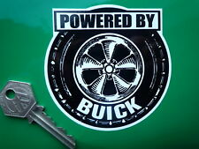 Powered by Buick Vintage Sticker Morgan 8 Rover Custom