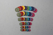 Stampin' Up! New Regals Embosslits SWEET BUTTON Cuts 60