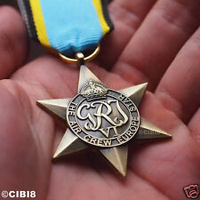 THE AIR CREW EUROPE STAR MEDAL WW2 BRITISH MILITARY MEDAL ROYAL AIR FORCE COPY '