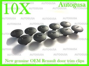 OEM RENAULT SCREW WHEELARCH COVER FASTENERS BOOT LINING CLIPS DOOR TRIM CLIPS 10