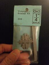 "Grandt Line On3 1/4"" Scale Victorian Bracket Kit #3530"