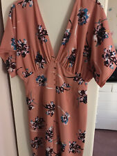 Beautiful Asos Summer Floral Playsuit Size 10 BNWT