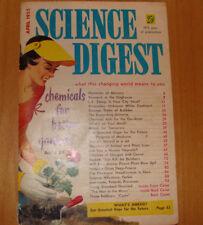 Science Digest Magazine April 1955 Antarctica