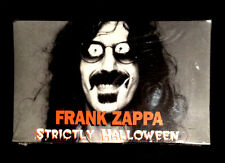 1995 FRANK ZAPPA STRICTLY HALLOWEEN -SEALED - 3 SONG PROMO AUDIO CASSETTE TAPE
