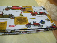 "Vintage ""Old Classic Cars"" Valance (10-1/2"" High x 131"" Wide) With Black Trim"