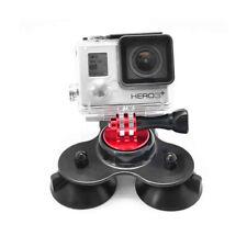FOT-R Triple Auto Vetro Finestra Ventosa Parabrezza Dash Mount per GoPro Hero