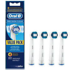 4x Braun Oral B Precision Clean Electric TOOTHBRUSH HEADS EB20-4