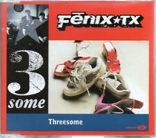 FENIX TX - THREESOME - VIDEO ENHANCED CD SINGLE - MINT
