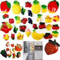3 Pack Refrigerator Magnets Fruits Vegetables Magnet For Your Fridge 30 Pc Set