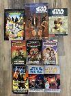 Lot of 9 Star Wars Books Journal Adventures Jedi Academy Young Jedi Knights PB