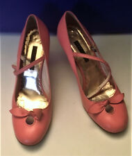 Marc Jacobs pink Women's Shoes Size 10M Heels Made in Italy