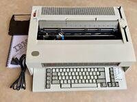 REFURBISHED IBM Lexmark Wheelwriter 10 Typewriter Wide Carriage - SpellCheck