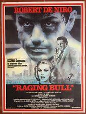 Poster Raging Bull Martin Scorsese Robert de Niro Jake Lamotta Boxing
