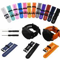 Ersatz Silikon Armband Uhrenarmband Watch Band für Garmin Fenix3 HR GPS w/Tools