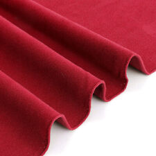 US Red 7/8ft Professional Worsted Billiard Cloth Felt Mat Cover For Table Pool