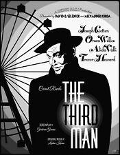 The Third Man Orson Welles Pop Art Poster #1 Signed LtdEd. Print by John Lathrop
