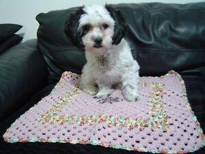 Crochet Blanket, Pet Car Seat/Sofa/Chair Protector (S6)