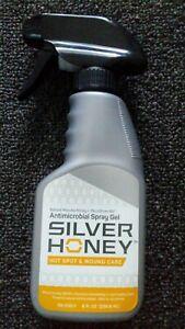 Silver Honey Hot Spot & Wound Care Spray Gel Exp 11/2021