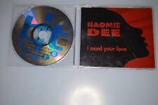 Naomie Dee – I Need Your Love CD-MAXI