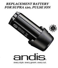 REPLACEMENT Lithium Ion BATTERY for Andis SUPRA 120 & Pulse Ion CORDLESS CLIPPER