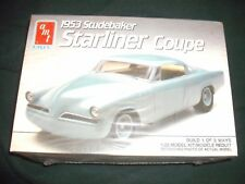 AMT 1953 Studebaker Starliner Coupe 1/25 Model Kit/Modele Reduit #6955 1990 Ertl