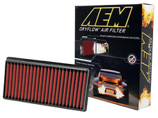 AEM 28-20042 STOCK REPLACEMENT WASHABLE REUSABLE PANEL AIR FILTER [MADE IN USA]