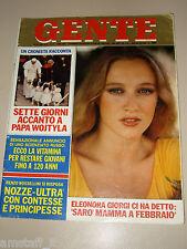 GENTE=1979/42=ELEONORA GIORGI=aurelio ponzoni=BRITT EKLAND=francesco marolla=