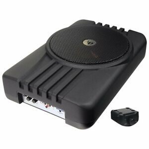 """Audiopipe 10"""" 300 Watts Max Active Enclosed Car Subwoofer System - APLP-1001"""