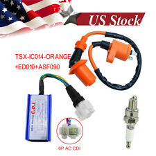 Racing Ignition Coil Spark Plug Cdi For Gy6 Scooter Go Kart 150cc 125cc 50cc ATV